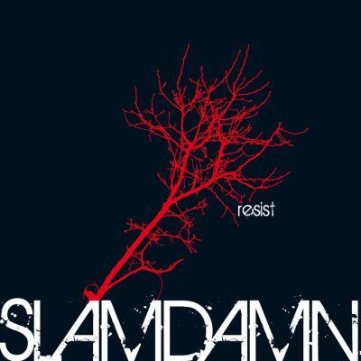 "Slamdamn ""Resist"" Cover"