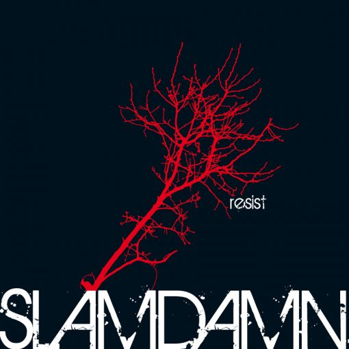 "Slamdamn ""Resist"" Cover"